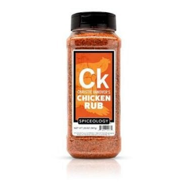 Christie Vanover Chicken Rub in 20oz container