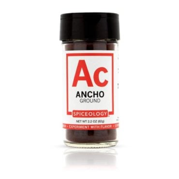 Ancho Chile Powder in 2oz Glass Jar