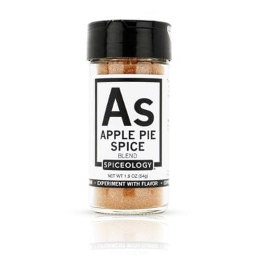 Apple Pie Spice in Glass Jar