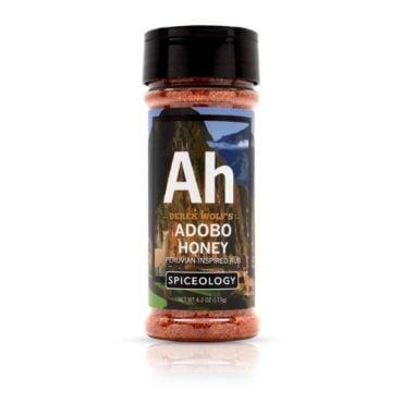 Derek Wolf Adobo Honey peruvian chicken seasoning in 4.2oz
