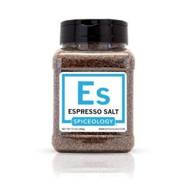 Espresso Salt in 13oz container