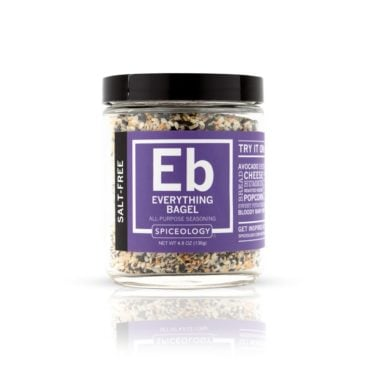 Everything But the Bagel salt-free seasoning 4.8oz glass jar