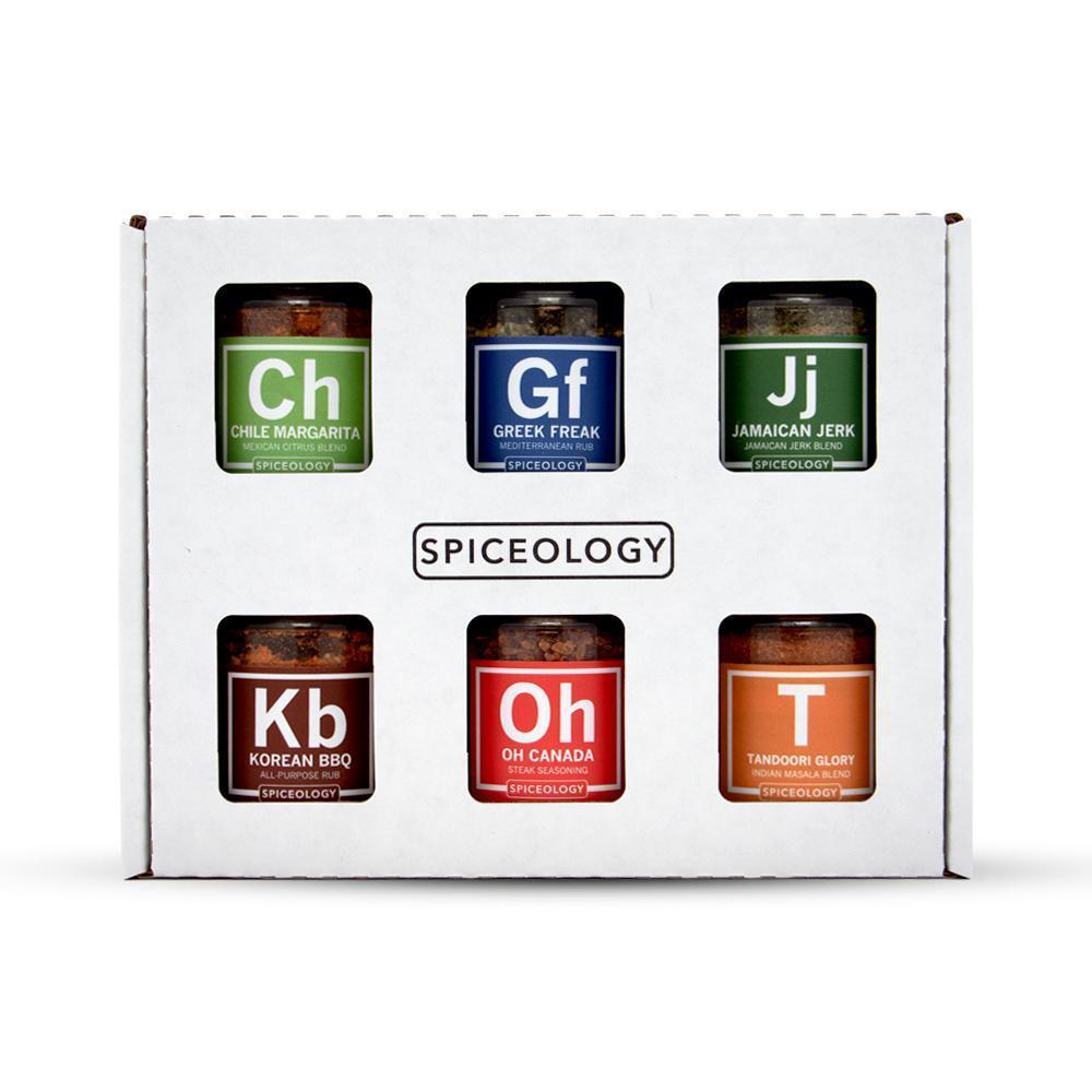 Global Flavors Variety Pack – 6 Mini Rub Jars