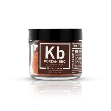 Global Flavors Korean BBQ seasoning in 1oz jar
