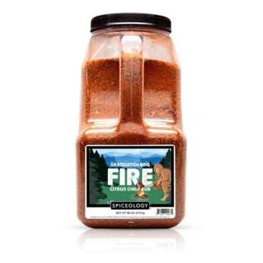 Sasquatch BBQ Fire Citrus Rub in 96oz container