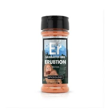 Sasquatch BBQ Erubtion rib rub and bbq seasoning 4.4oz