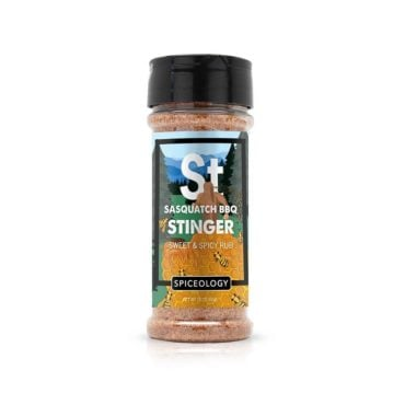 Sasquatch BBQ Stinger sweet and spicy meat rub and bbq seasoning 4.4oz