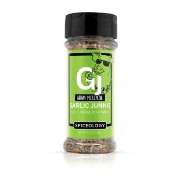 Adam McKenzie Garlic Junkie in small container