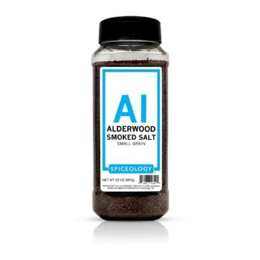 Alderwood Smoked Salt in 32oz container