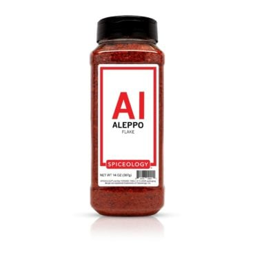 Aleppo Pepper Flake in 14oz container