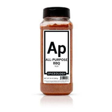 All-Purpose BBQ seasoning in 20oz container