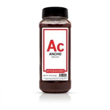 Ancho Chile, Ground in 16oz container