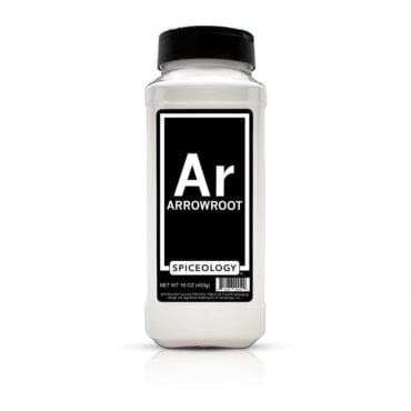 Arrowroot powder in 16oz container