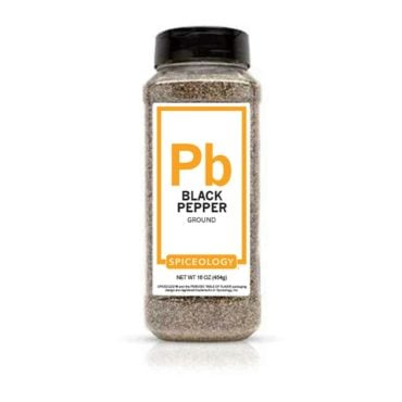Black Pepper, Ground in 16oz container