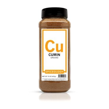 Cumin Seed, Ground in 16oz container
