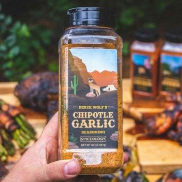 Derek Wolf Chipotle Garlic seasoning