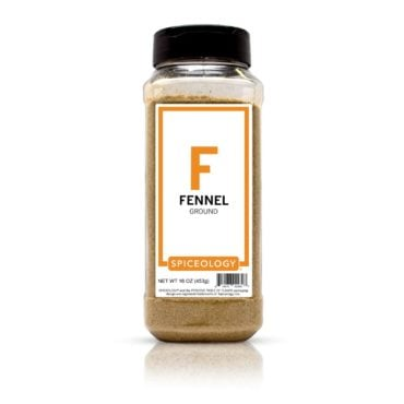 Ground Fennel Seed in 16oz container