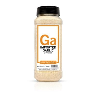 Imported Garlic Granules in 24oz container