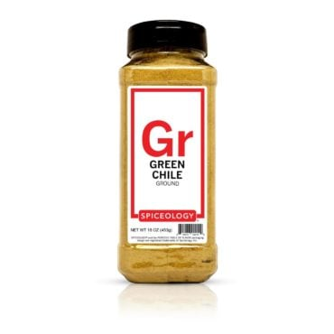 Green Chile powder in 16oz container