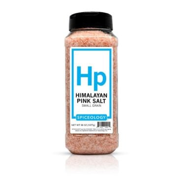Himalayan Pink Salt in 38oz container