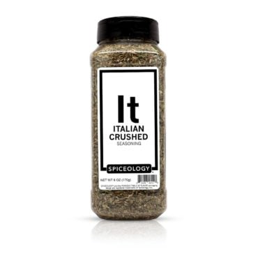 Italian Crushed Seasoning in 6oz container