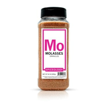 Molasses Granules in 20oz container