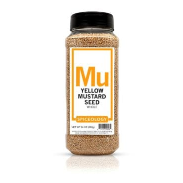 Yellow Mustard Seed in 24oz container