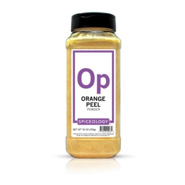 Orange Peel Powder in 16oz container