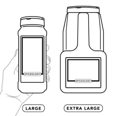 Large and extra large container