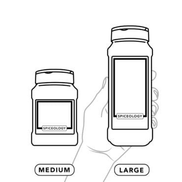Medium and large container