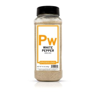 White Ground Pepper in 16oz container