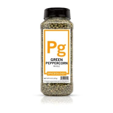 Green Peppercorns in 8oz container