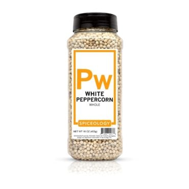 Peppercorns, White in 16oz container
