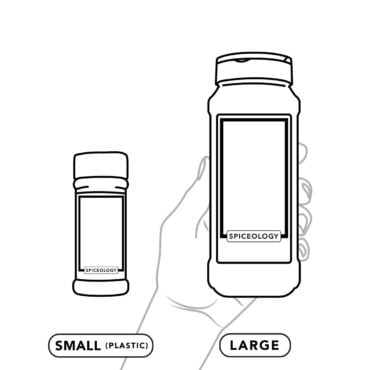 Small and large container