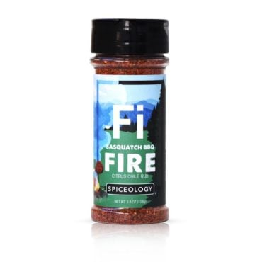 Sasquatch BBQ Fire Citrus Rub in 3.8oz container