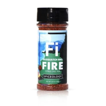 Sasquatch BBQ Fire seasoning in 3.4oz small jar