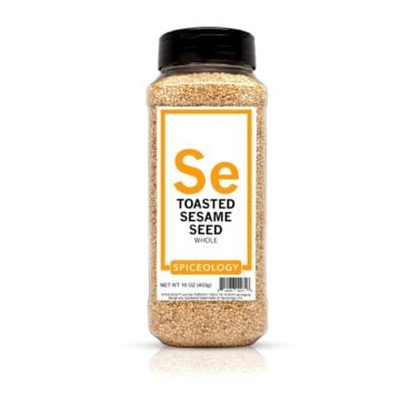 Sesame Seed, Toasted in 16oz container