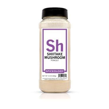 Mushroom Powder, Shiitake in 12oz container