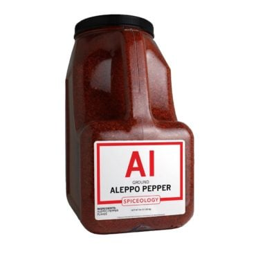 Aleppo Pepper Flake in 64oz container