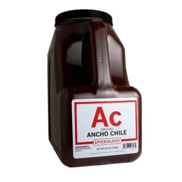 Ancho Chile, Ground in 96oz container
