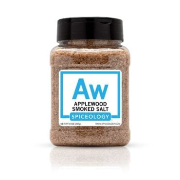 Applewood Smoked Salt in 8oz container