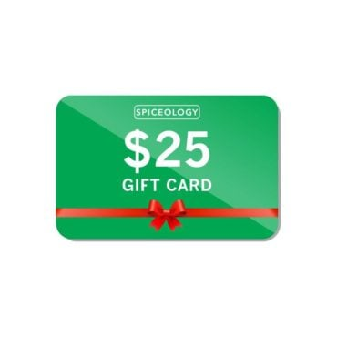 $25 Spiceology gift card