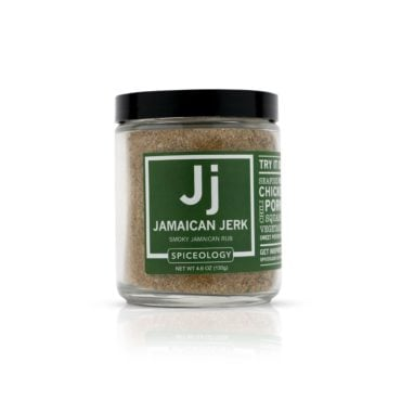 Jamaican Jerk Jamaican Jerk Rub in 4.6oz Glass Jar