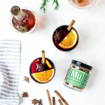 Mulling Spices for mulled wine recipe