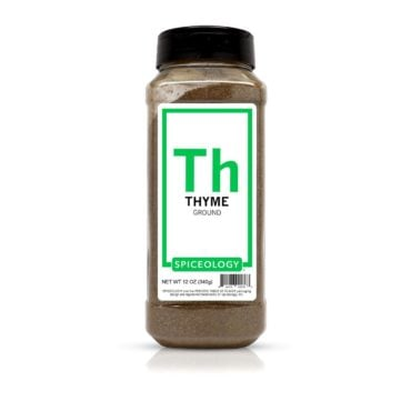 Thyme, Ground in 12oz container