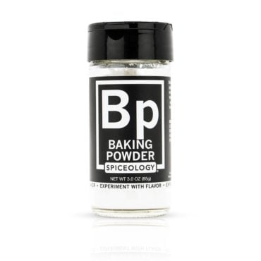Baking Powder in 3oz Glass Jars