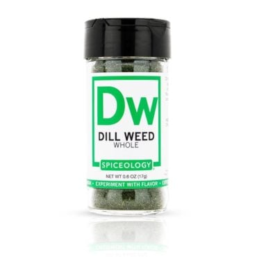 Dill Weed in 0.6oz Glass Jar