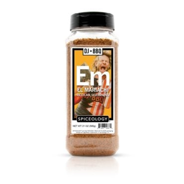 DJ BBQ El Mariachi Mexican Seasoning 21oz in container