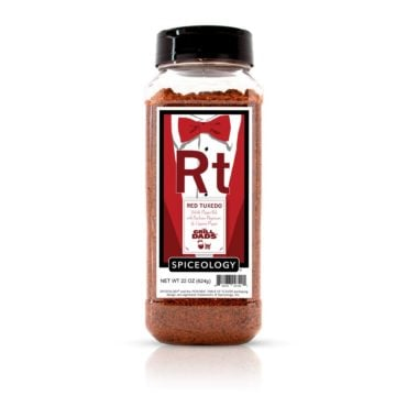 The Grill Dads Red Tuxedo in 22oz container