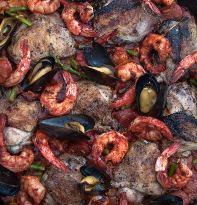 Grilled Paella Recipe | Spiceology